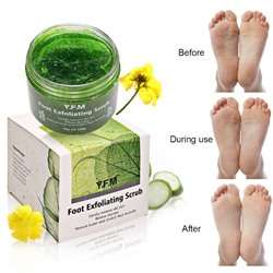 Скраб для ног Y.F.M foot exfoliating scrub,150 гр.