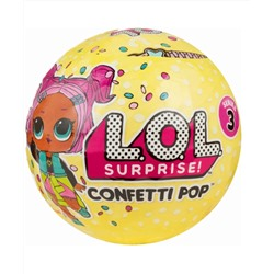 Series 3 Confetti Pop Tots Doll - Styles May Vary