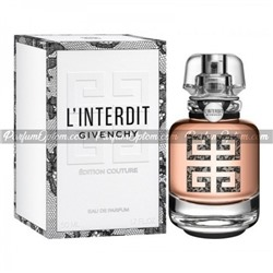 GIVENCHY L'INTERDIT EDITION COUTURE FOR WOMEN EDP 80ml