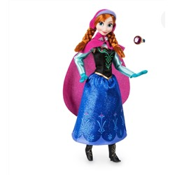 Anna Classic Doll with Ring - Frozen - 11 1/2'
