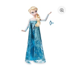 Elsa Classic Doll with Ring - Frozen - 11 1/2''